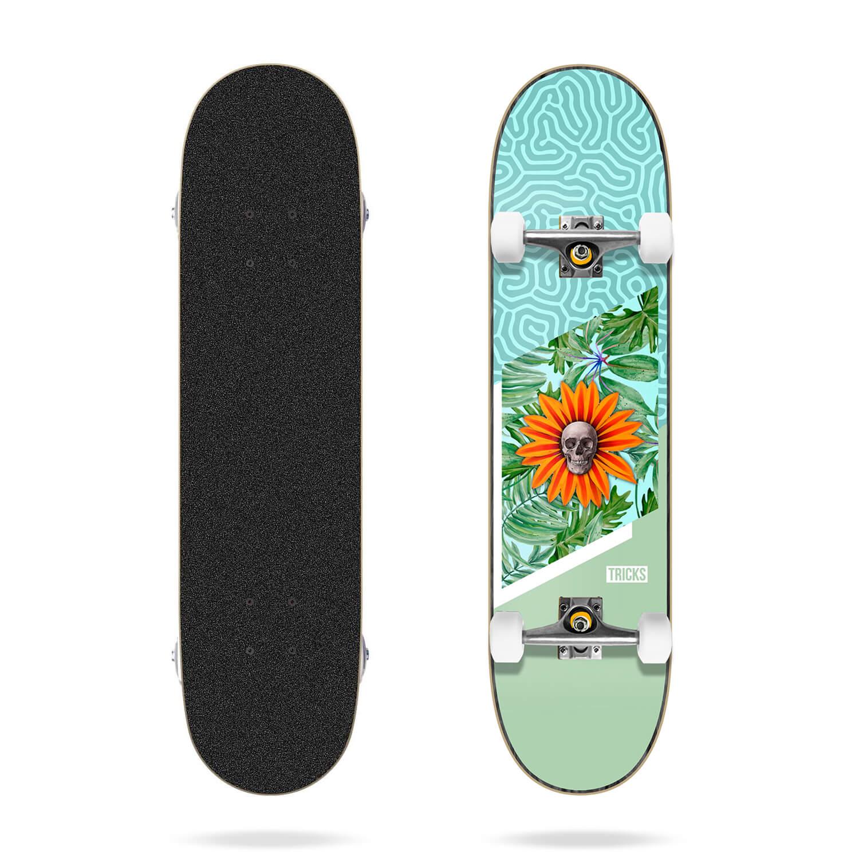 "Tricks Garden 8.0"" MC Skateboard Complete"