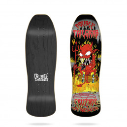 "Cruzade Double Tail Grab 9.375"" skateboard deck"