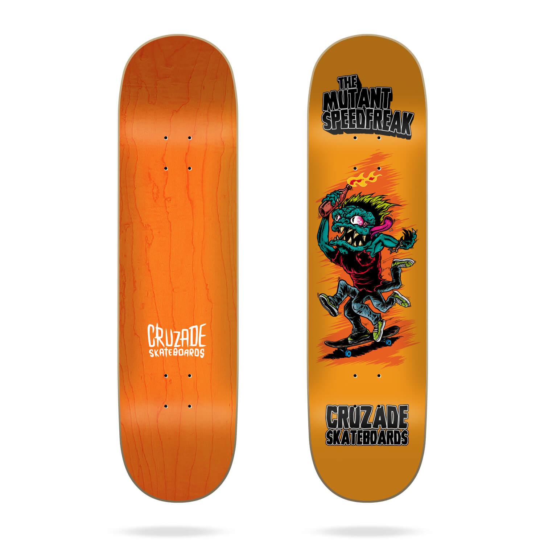 """Cruzade The Mutant Speedfreak 8.0"""" skateboard deck"""