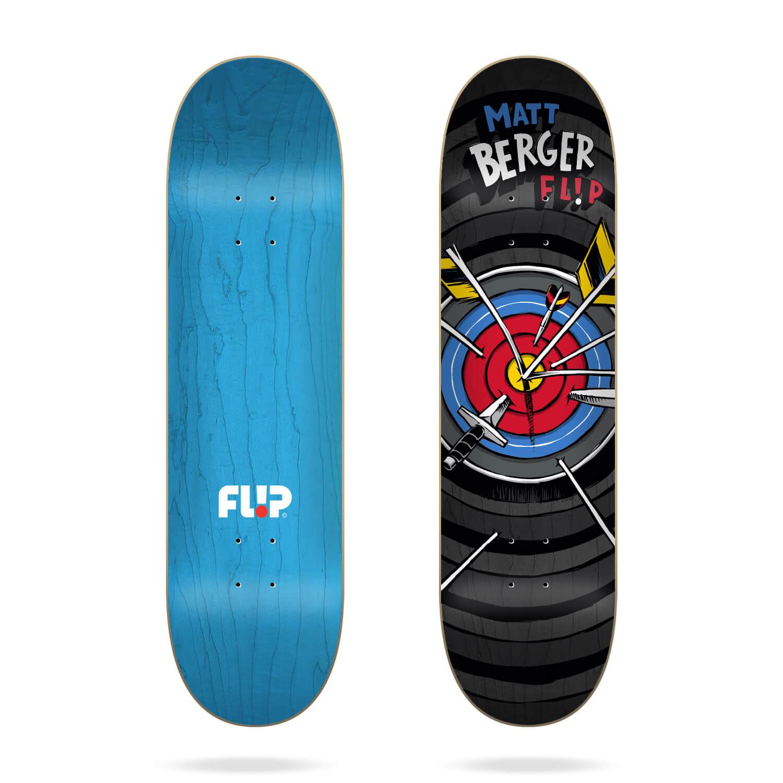 "Flip Berger Blast 8.0"" skateboard deck"