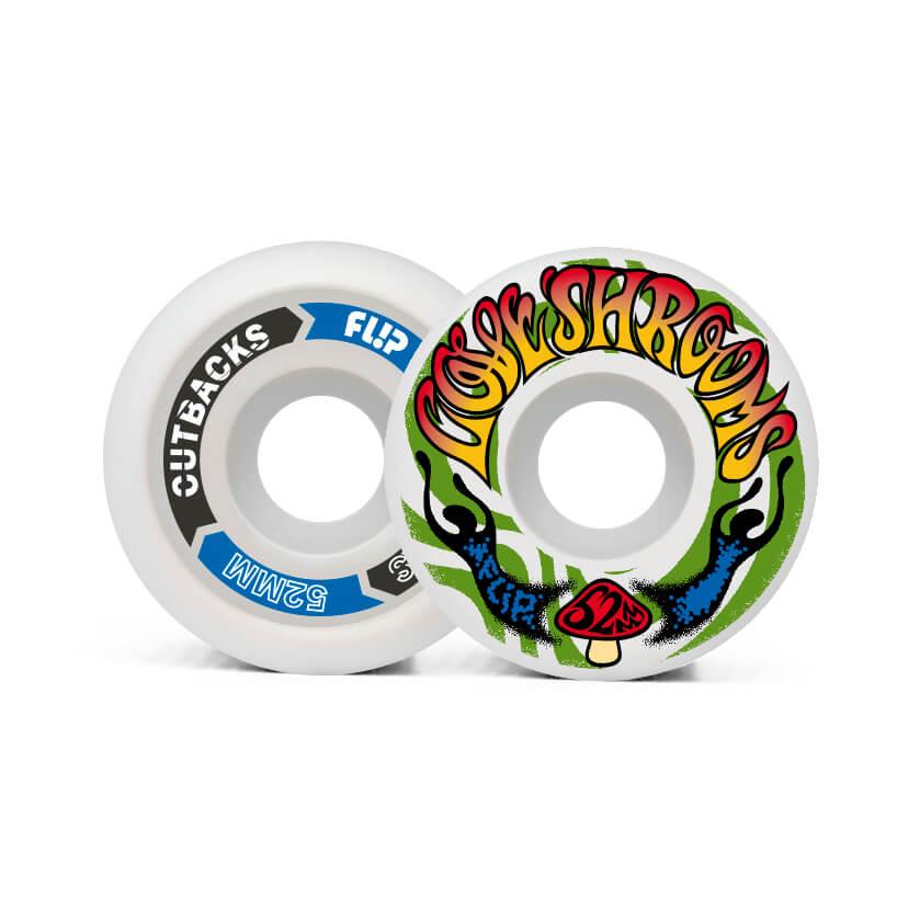 Flip Cutback Loveshroom 52mm 99a wheels pack