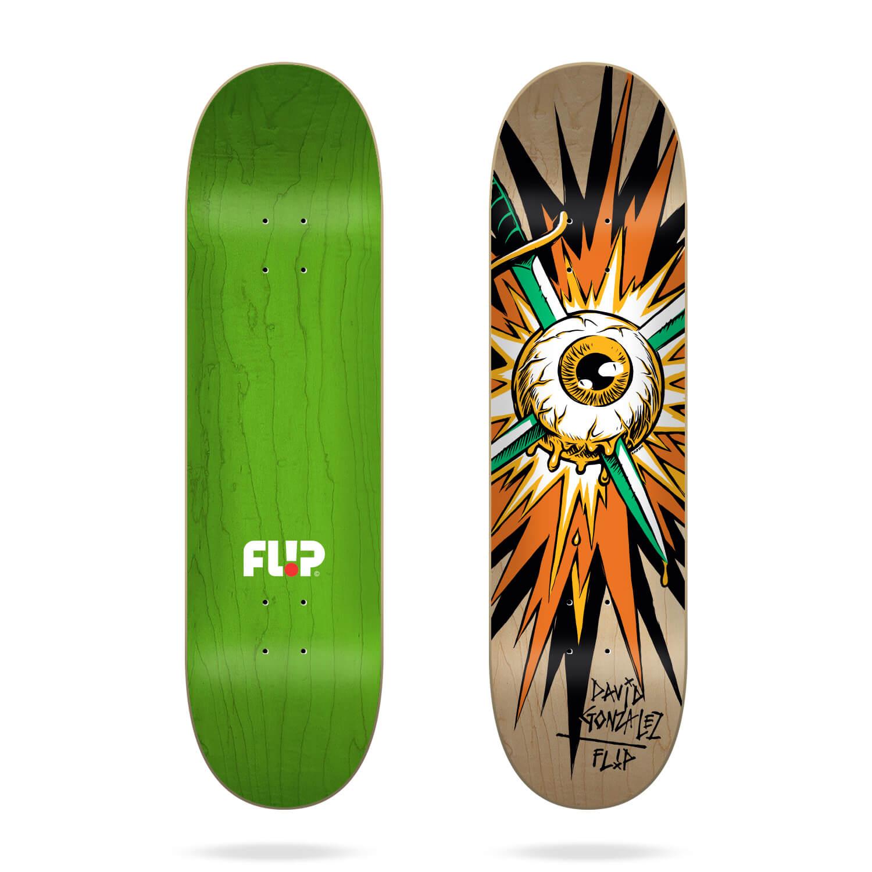 "Flip Gonzalez Blast 8.0"" skateboard deck"