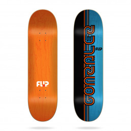 "Flip Gonzalez Stripe Series 8.0"" skateboard deck"