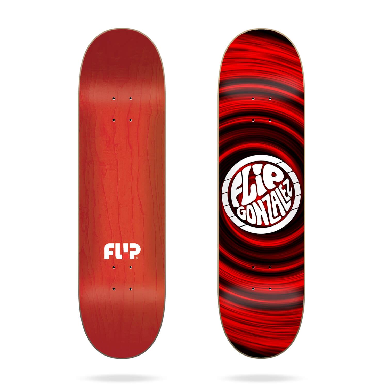 "Flip Hipnotic Gonzalez 8.0"" skateboard deck"