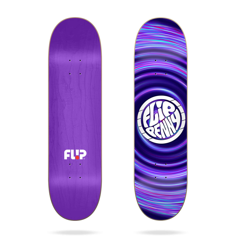 "Flip Hipnotic Penny 8.25"" skateboard deck"