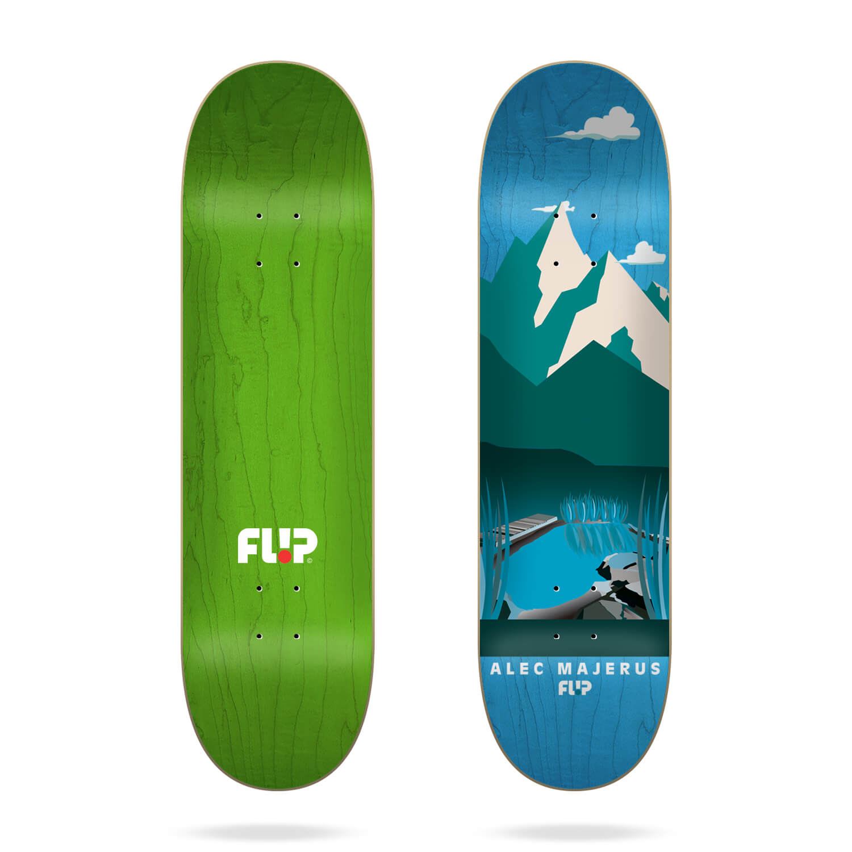 "Flip Majerus Boarding Pass 8.25"" skateboard deck"