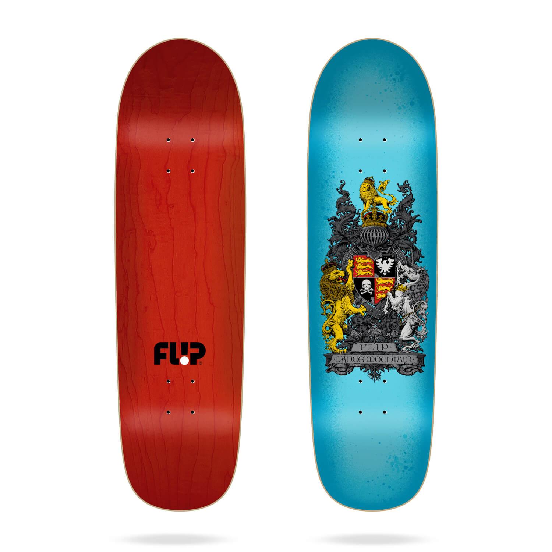 "Flip Mountain Crest Blue 8.75"" skateboard deck"