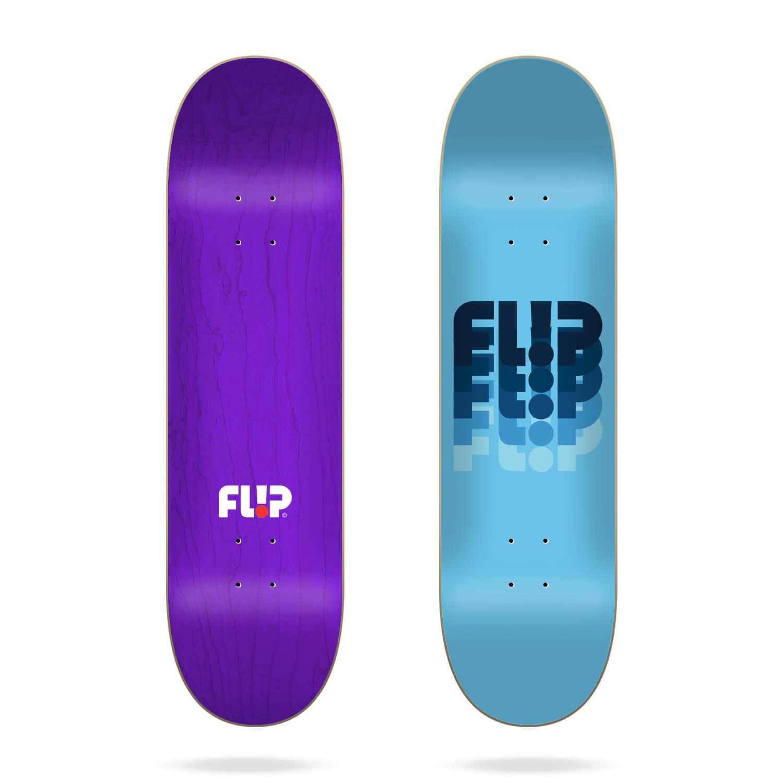 "Flip Odyssey Changed Blue 8.0"" skateboard deck"