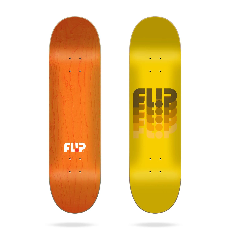 "Flip Odyssey Changed Yellow 7.81"" skateboard deck"