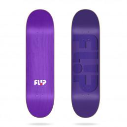 """Flip Odyssey Embossed Purple 7.75"""" skateboard deck"""