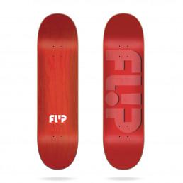 Flip Odyssey Embossed Red 8.0