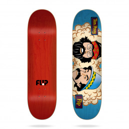 "Flip Penny Toms Friends Stained Blue 7.94"" skateboard deck"