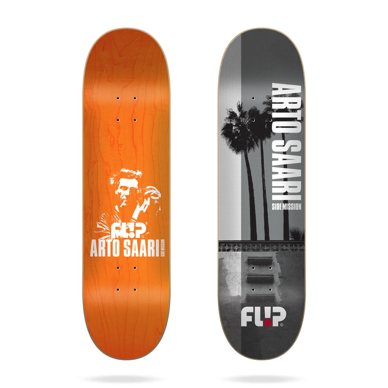 "Flip Saari Sidemission Palms 8.5"" skateboard deck"