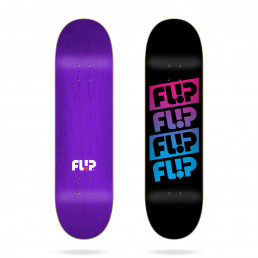 Flip Team Quattro Faded Black 8.0