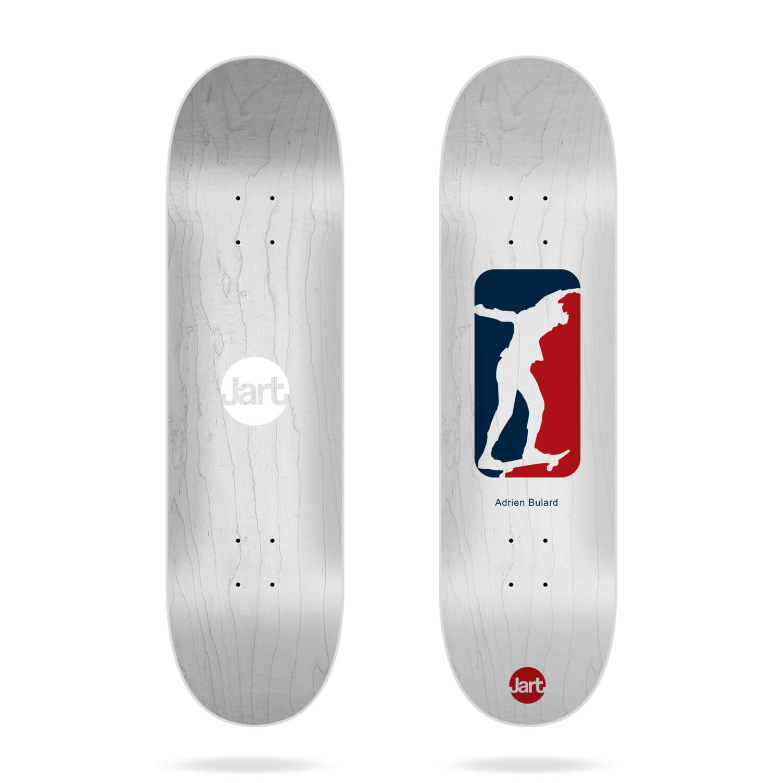 "Jart Cut Off 8.125"" Adrien Bulard skateboard deck"