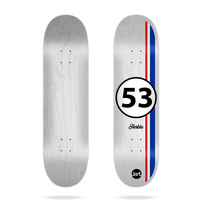 "Jart Legends 8.25"" skateboard deck"