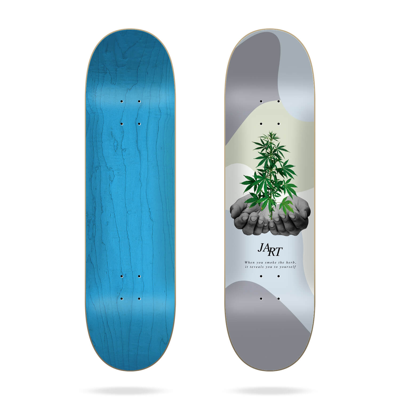 "Jart Let it be 7.75"" skateboard deck"