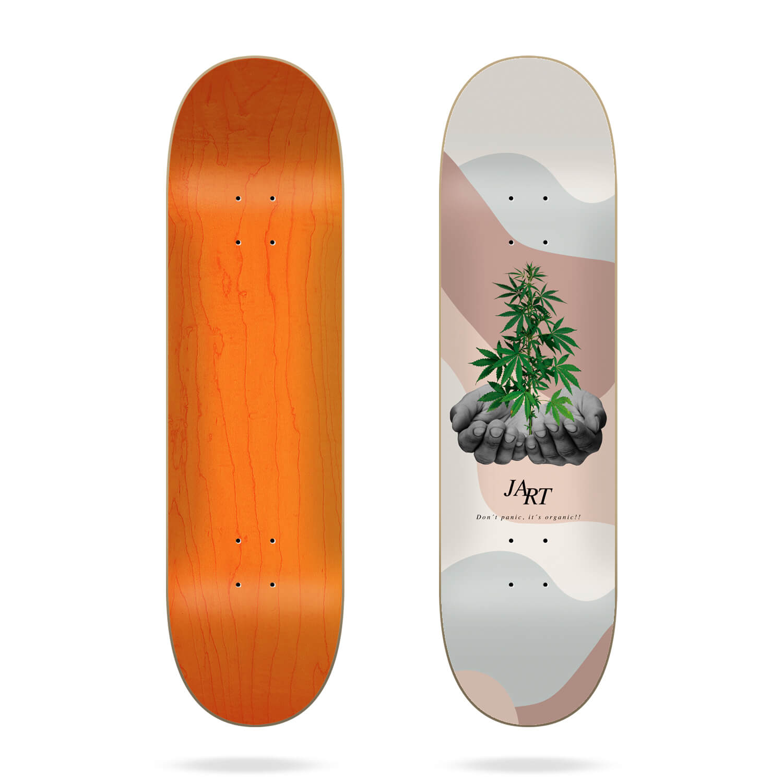 "Jart Let it be 8.0"" skateboard deck"