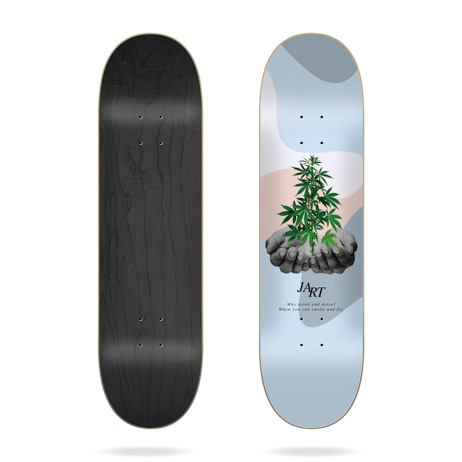 "Jart Let it be 8.125"" skateboard deck"