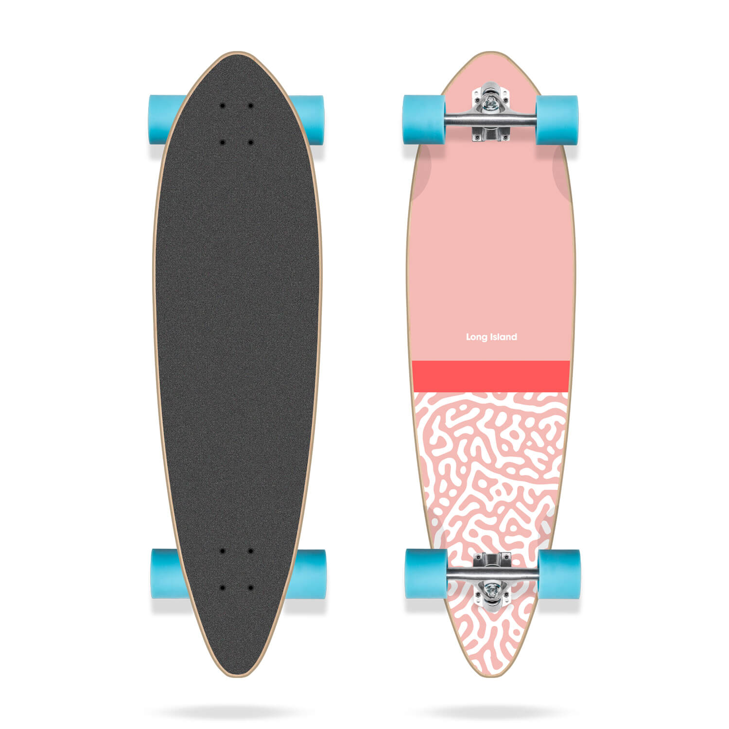 """Long Island Slight Essential 36"""" Pintail Complete longboard"""