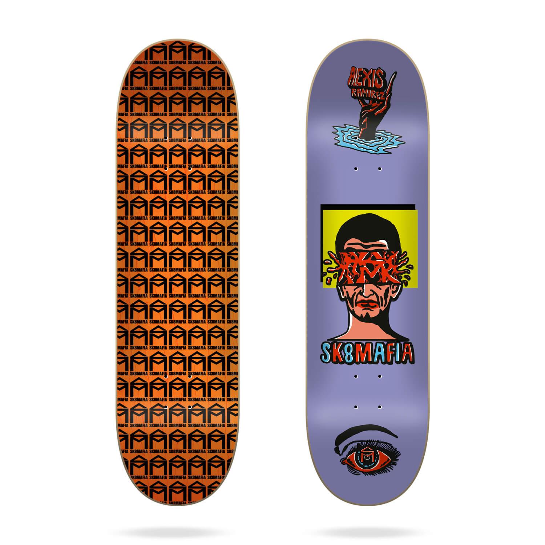 "Sk8mafia Alexis Ramirez Ward 8.5"" skateboard deck"