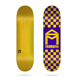 Sk8mafia House Logo Checker Purple 8.1