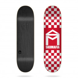 Sk8mafia House Logo Checker Red 8.25