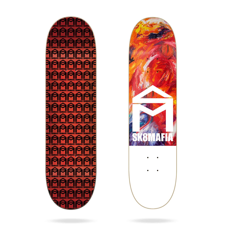 "Sk8mafia House Logo Oil High 8.25"" skateboard deck"