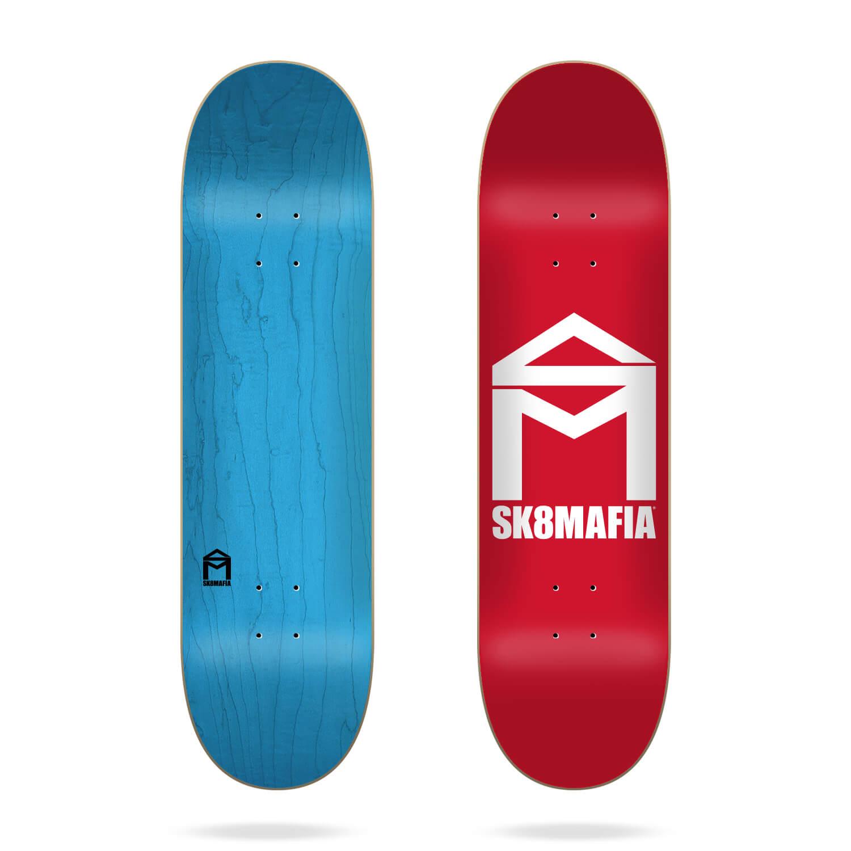 "Sk8mafia House Logo Red 8"" skateboard deck"