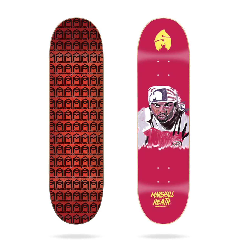"Sk8mafia Marshall Heath ""4EVA"" 8.1"" skateboard deck"