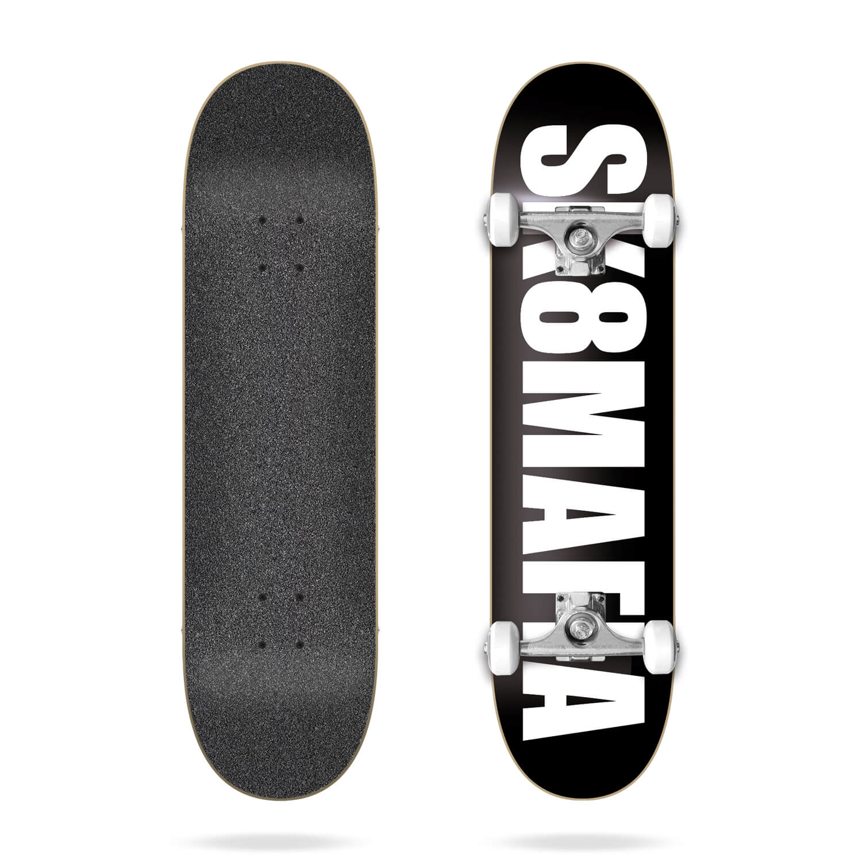"""Sk8mafia OG Logo Black 7.87"""" complete skateboard"""