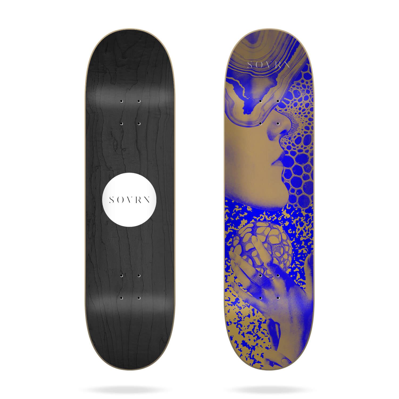 "Sovrn Gold Touch 8.25"" skateboard deck"
