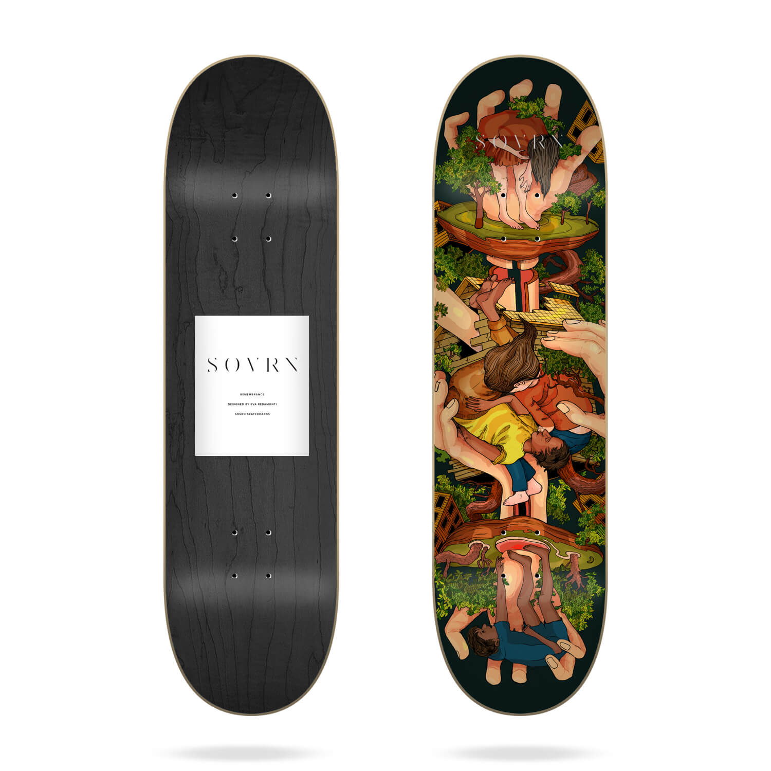 "Sovrn Remembrance 8.25"" skateboard deck"
