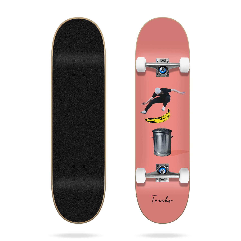 "Tricks Banana 7.75"" complete skateboard"