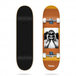 "Tricks Hippie 8.0"" complete skateboard"