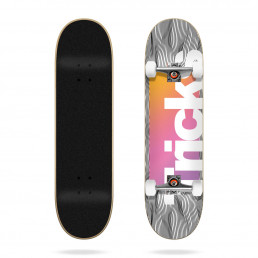 "Tricks Pattern 7.87"" complete skateboard"