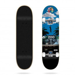 "Tricks Zoo 7.375"" complete skateboard"