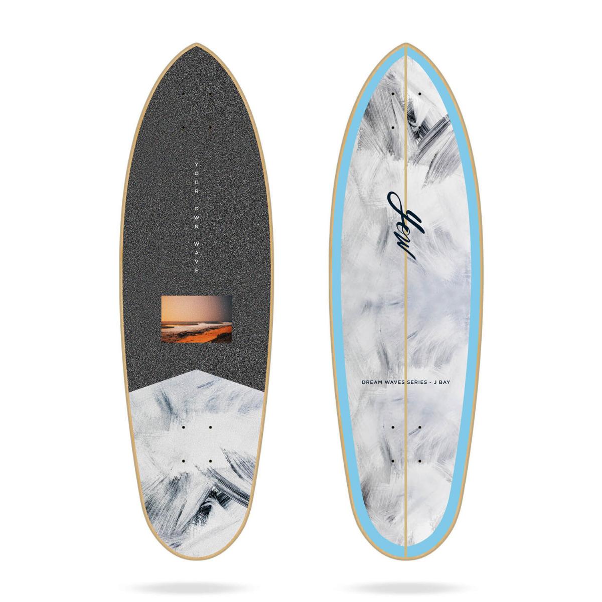 """Yow J-Bay 33"""" Dream Waves Series surfskate deck"""