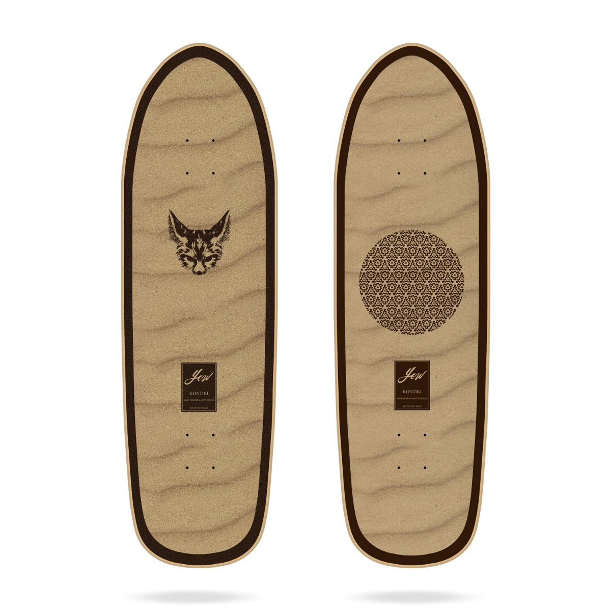 """Yow Kontiki 34"""" High Performance Series surfskate deck"""