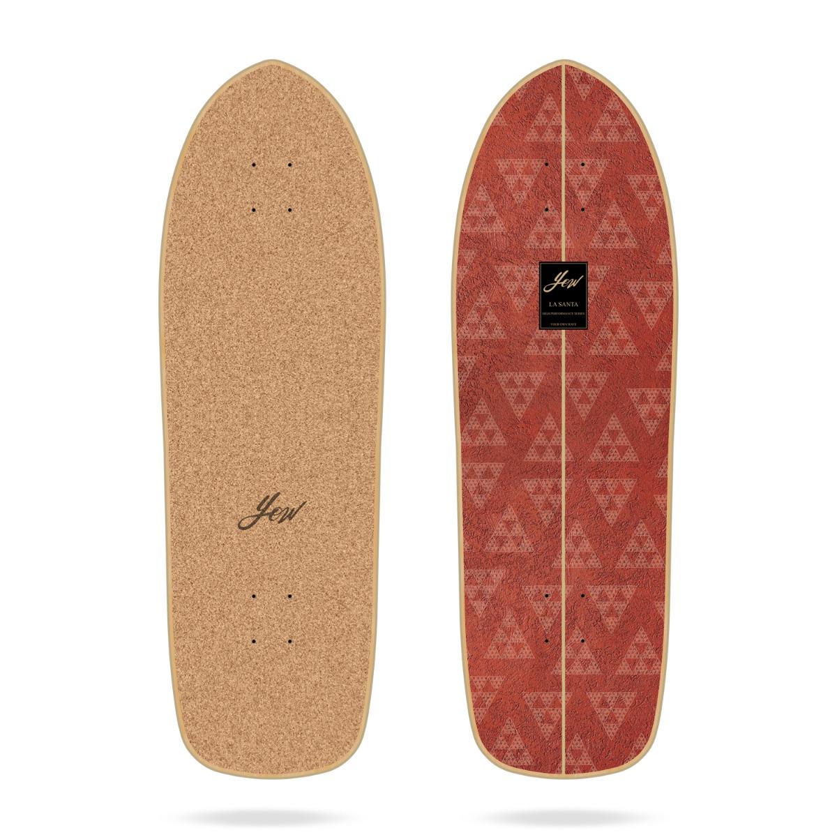 "Yow La Santa 33"" High Performance Series surfskate deck"