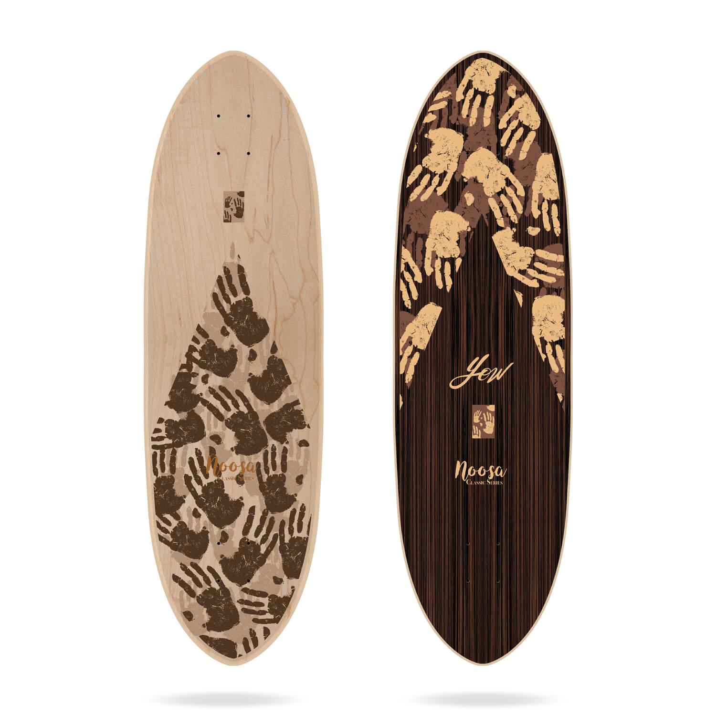 "Yow Noosa 35"" Classic Series surfskate deck"