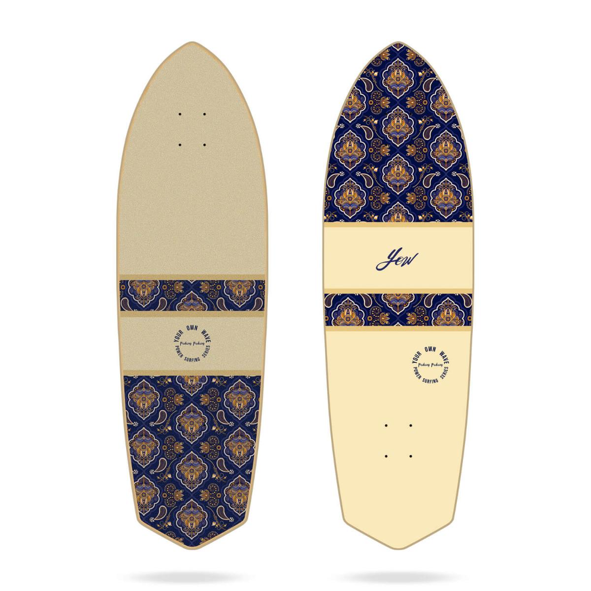 "Yow Padang Padang 34"" Power Surfing Series surfskate deck"