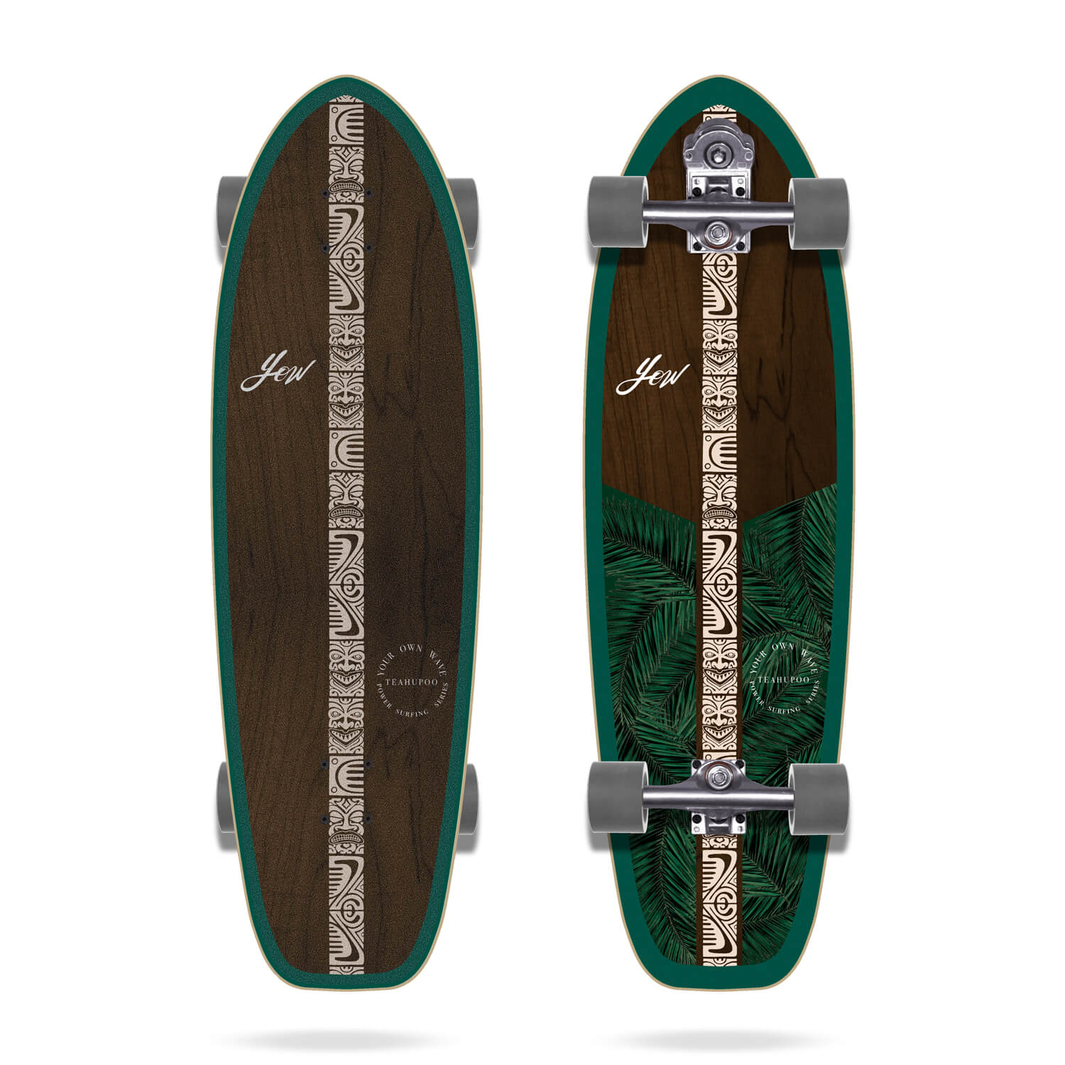 "Yow Teahupoo 34"" Power Surfing Series Surfskate"