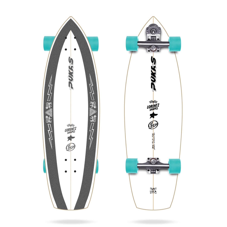 """Yow x Pukas La Loca 31.5"""" Signature Series Surfskate"""
