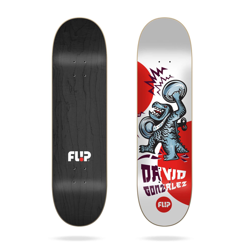 """flip gonzalez tin toys 8.0"""" deck"""