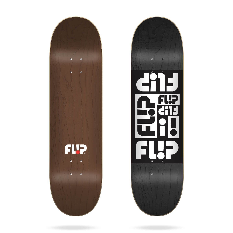 "flip multi odyssey black 8.5"" deck"