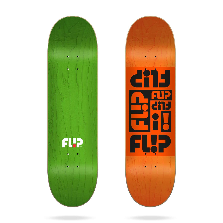 """flip multi odyssey orange 8.38"""" deck"""