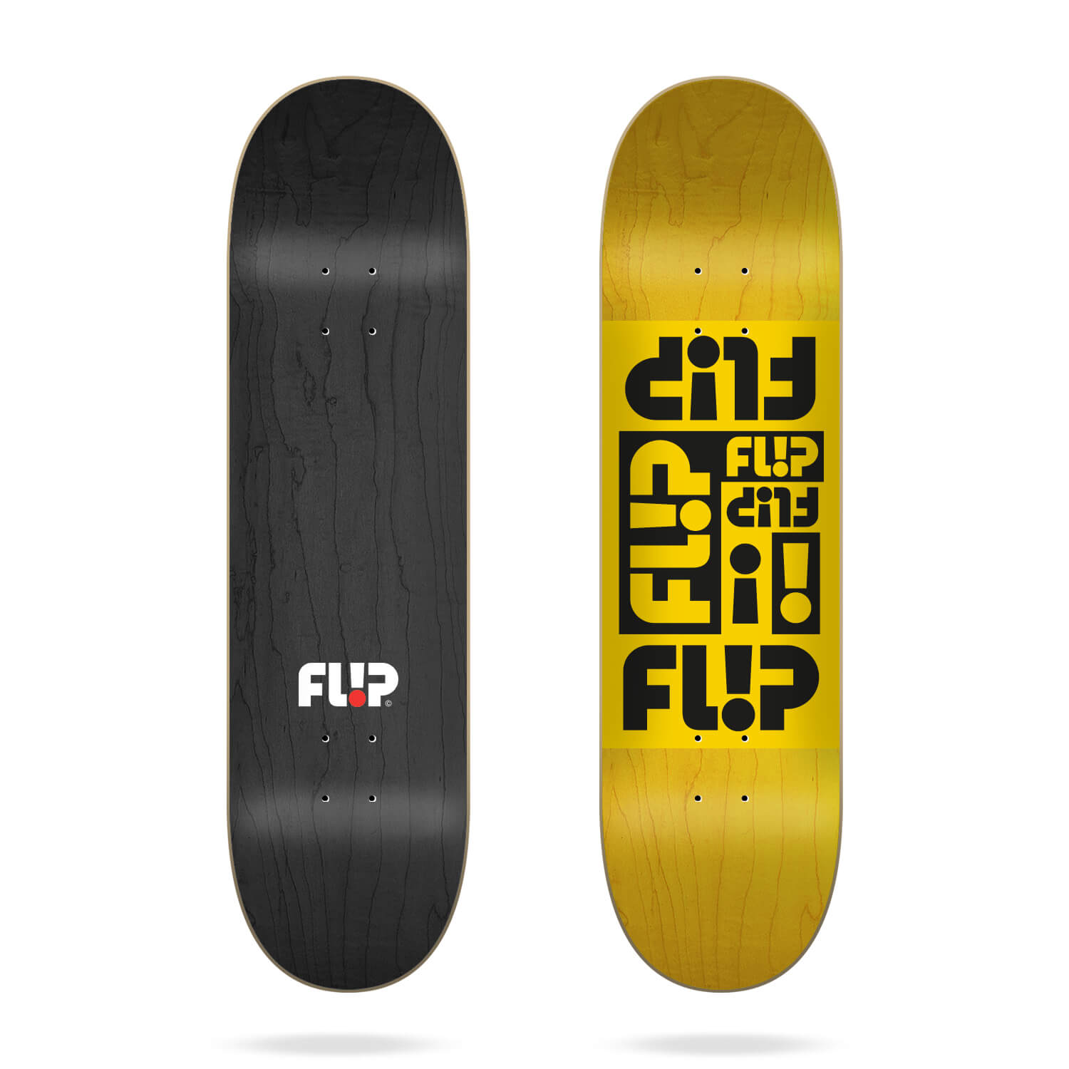 "flip multi odyssey yellow 8.0"" deck"