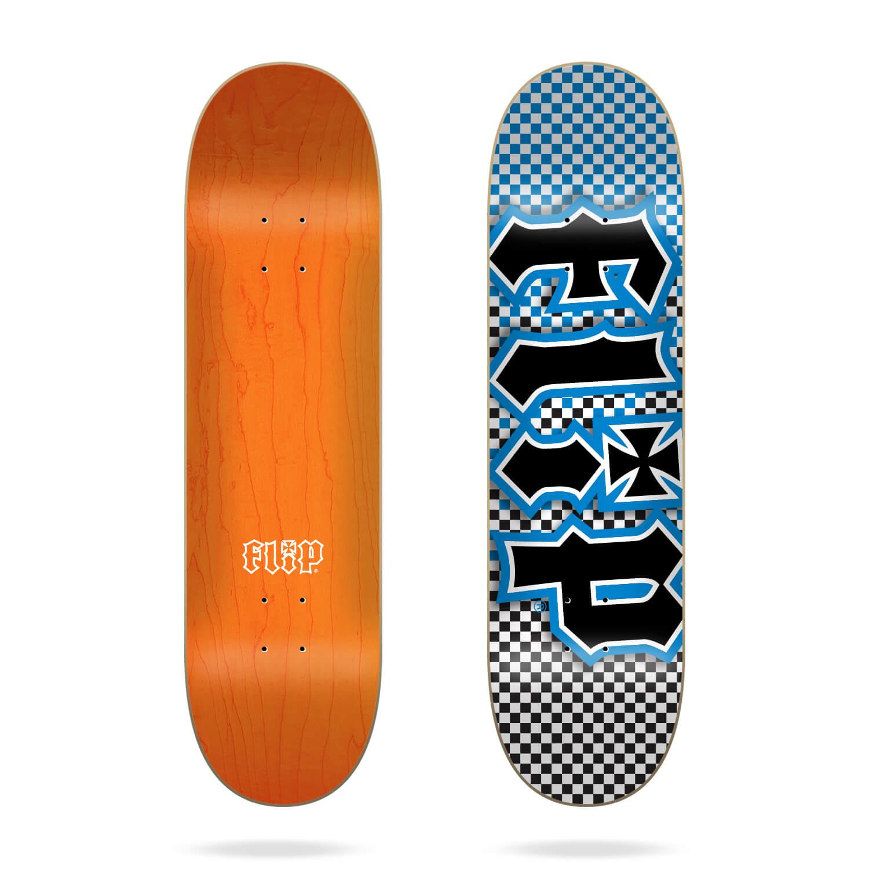 "flip team hkd fast times 8.13"" blue deck"