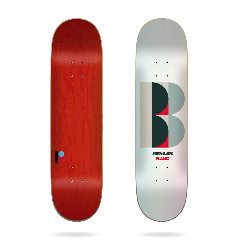 "plan b joslin deco 8.5"" skateboard deck"